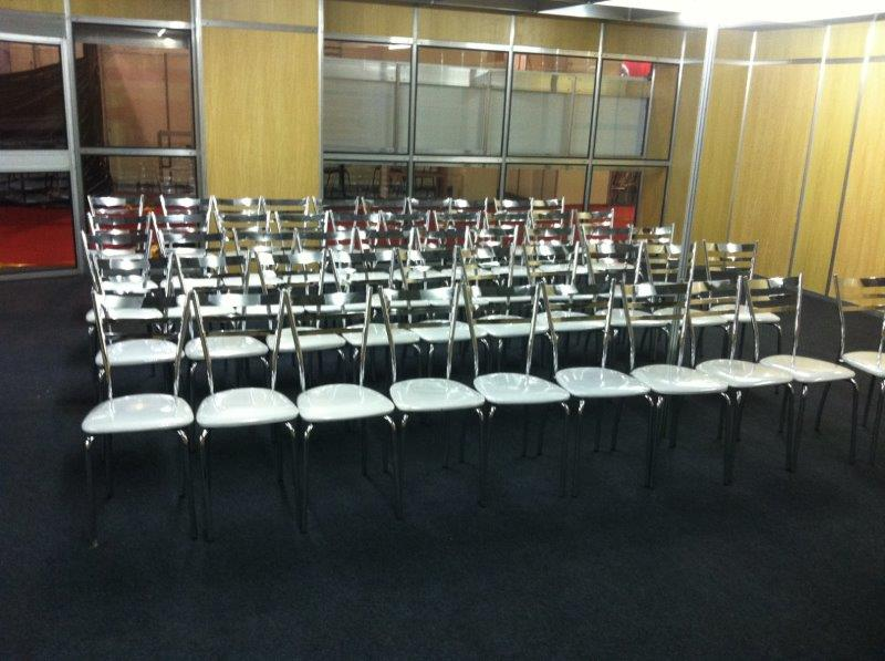 Locação de cadeiras para palestras