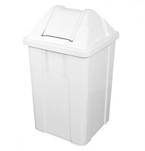 Balde de Lixo c/ Tampa vai-vem 13L