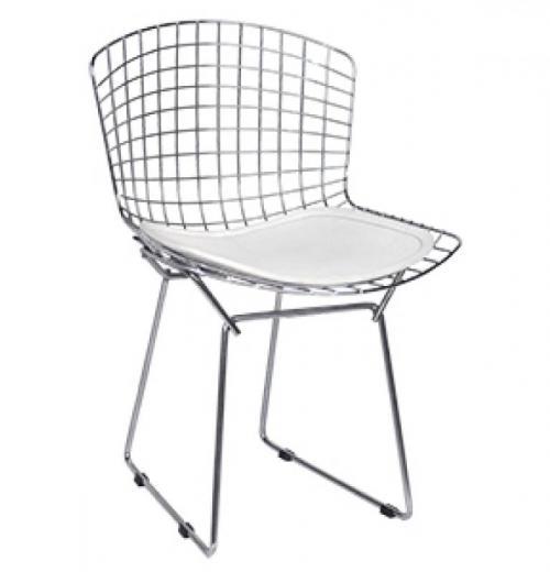 Cadeira Bertóia (Aramada), Cromada