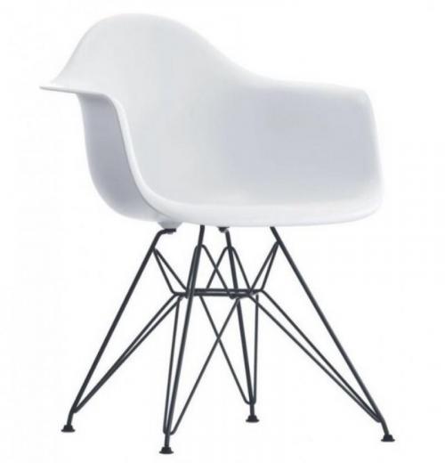 Cadeira DAR de Polipropileno com Base Cromada