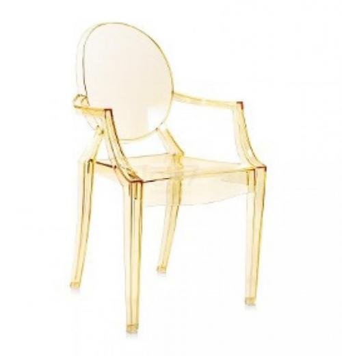Cadeira Ghost com Braço em Acrílico