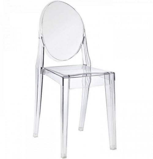 Cadeira Ghost Sem Braço em Acrílico