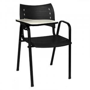 Cadeira Iso de Poliopropileno Escolar c/ Prancheta Escamotivel