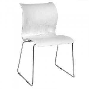 Cadeira Italiana de Polipropileno, Cromada