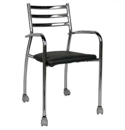 Cadeira Stilo Giratória, Cromada