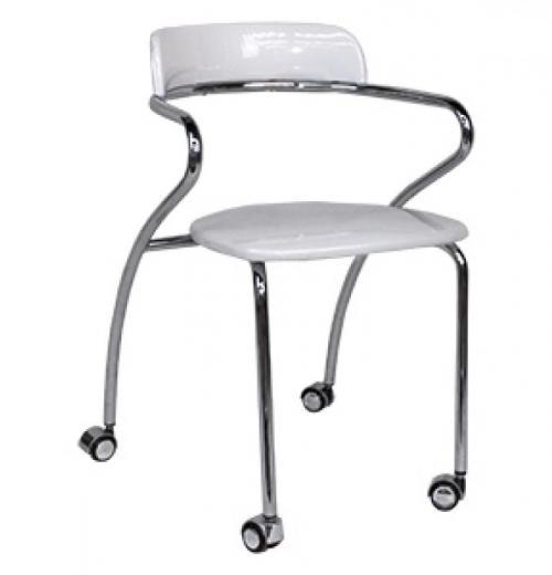 Cadeira Ufo Giratória, Cromada