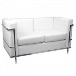 FWS0036 Sofá VIP de 2 Lugares, Base Cromado