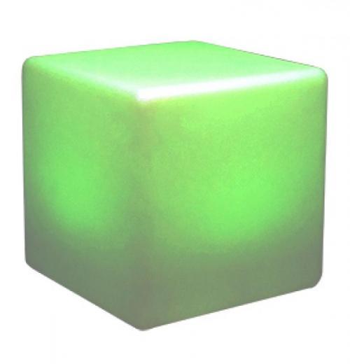 FWS0062 Puff Cubo LED c/ Controle Remoto e Ajuste de Cores